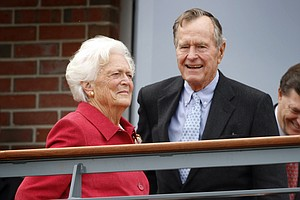 Former President George H.W. Bush, Wife Barbara Hospitalized