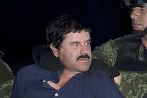 Photo for Notorious Drug Lord Joaquin 'El Chapo' Guzman Convicted