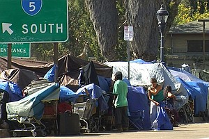 San Diego Businesses, Residents Oppose Adding Temporary Homeless Shelter Down...