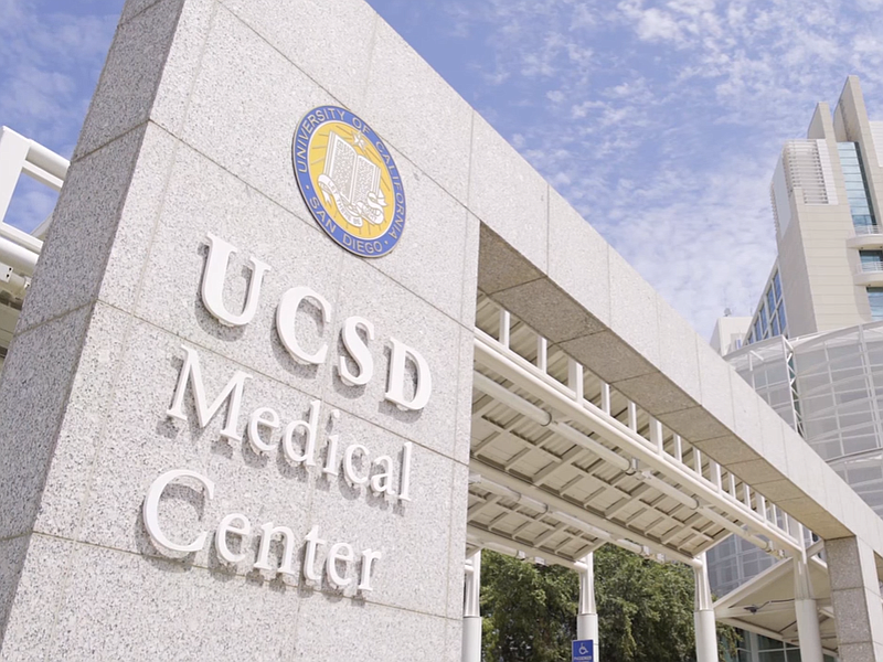 The UCSD Medical Center in Hillcrest will be one of the sites of picketing am...