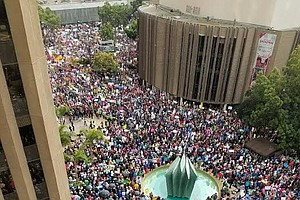 More Than 30,000 San Diegans March For Women's Rights