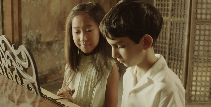 Viviann Yee and Adam Chernick play Meizhen and Alfred in Shayna Cohen's short...