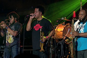 LIVE AT THE BELLY UP: The Soul Rebels Sound System Feat. Talib Kweli