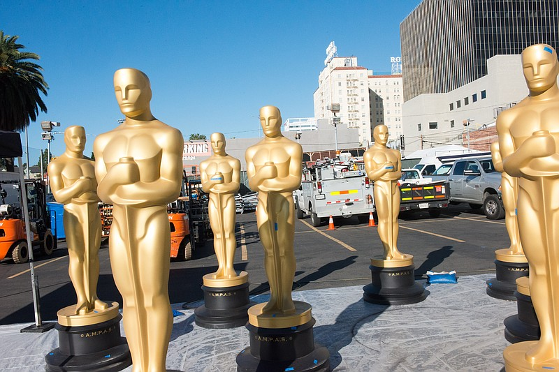 Preparations continued Wednesday, February 22, 2017 for the 89th Oscars® for ...