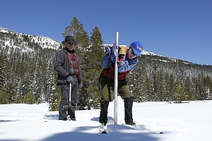 'Phenomenal' California Snowpack Nears Record Depths