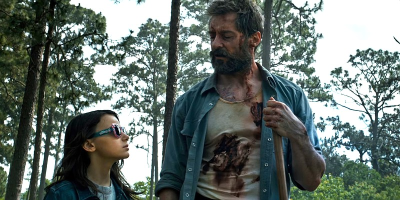 Laura (Dafne Keen) hooks up with Logan (Hugh Jackman) for a violent road trip...