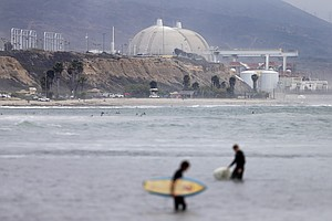 Rising Seas Could Swamp The Shuttered San Onofre Nuclear Plant By Next Century