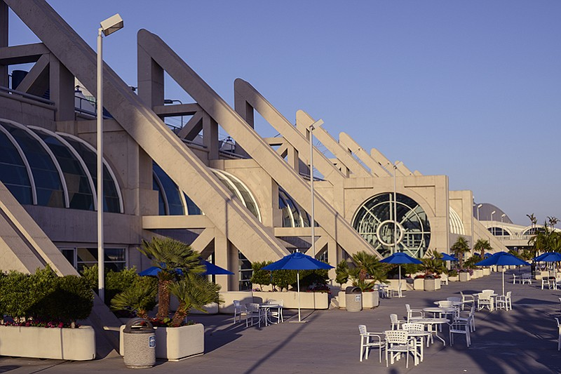 San Diego Convention Center S Sails Pavilion Roof To Be