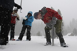 Substantial Snowpack In Manual Survey Shows California Mo...