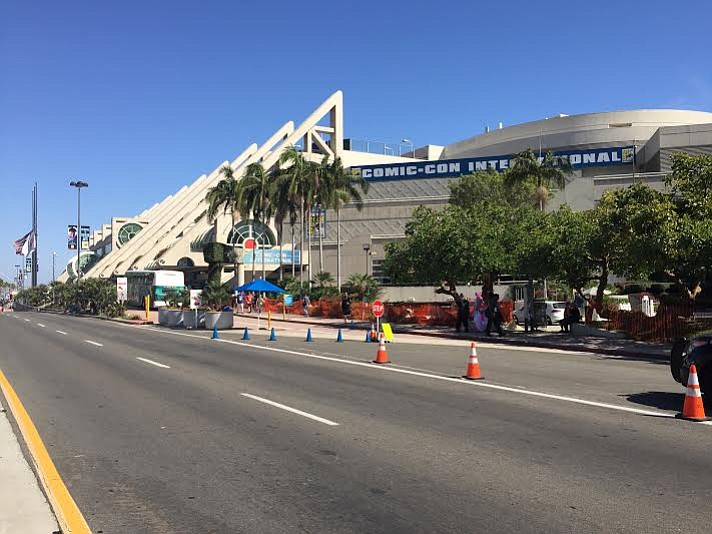 A view of the San Diego Convention Center, July 20, 2016.
