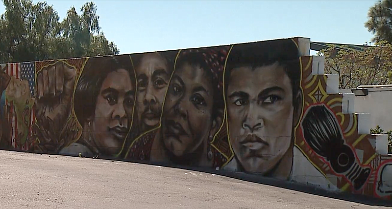 One Wall At A Time Murals Transform San Diegos Lincoln Park KPBS