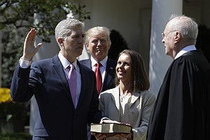 Gorsuch Sworn In As Supreme Court Justice