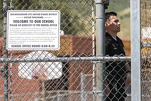 San Bernardino School Closed Following Murder-Suicide