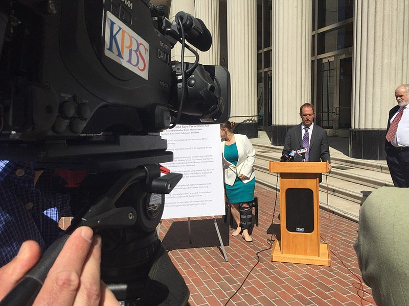 Assemblyman Brian Maienschein announces state lawmakers are ready to start de...