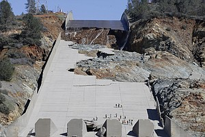 California Storm May Test Spillway At Nation's Tallest Dam
