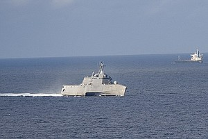 LCS Crew Returns Home To San Diego After Extended Singapo...