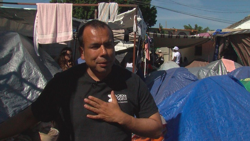 Hugo Castro, San Diego activist, volunteers to help Haitian refugees in Mexic...