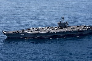North Korea Threatens To Sink U.S. Carrier; China Urges Restraint