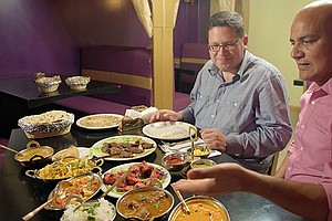 CROSSING SOUTH: Indian Food