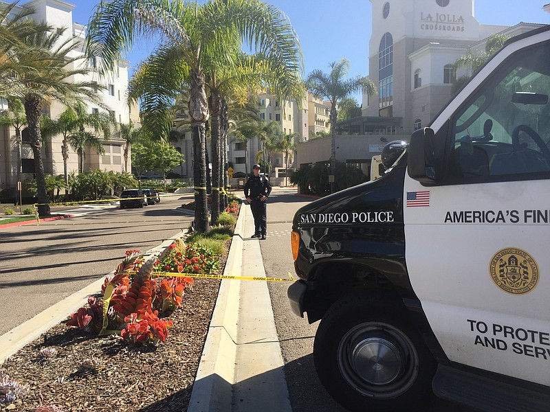 class project on san diego police