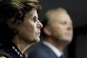 Photo for Shelley Zimmerman Works Last Day As San Diego Police Chief