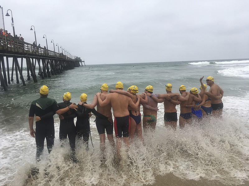 Swimmers Cross US-Mexico Border To Support Immigrants | KPBS
