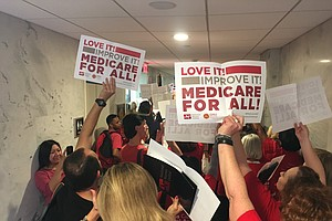 San Diego Nurses Rally In Washington For Lower Patient-To...