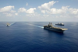 Makin Island Amphibious Group Returns To San Diego Follow...