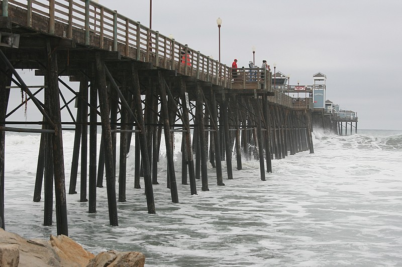 The Oceanside pier is shown in this January 2015 photo.