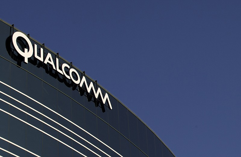 The Qualcomm headquarters building in San Diego, Nov. 2, 2011.