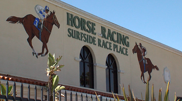 Surfside satellite wagering facility, Del Mar Fairgrounds, May 17,2017
