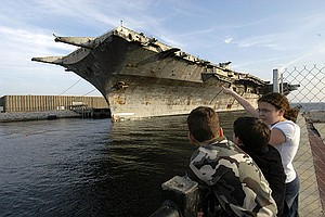 Sinking Of An Aircraft Carrier