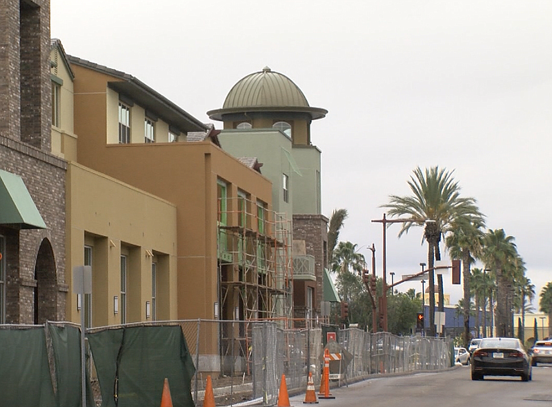 The Promenade at Creekside, an affordable housing complex in San Marcos, is s...