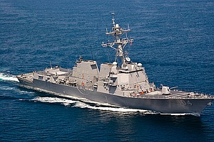 USS Sterett Returns Home To San Diego