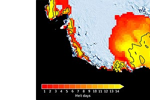 Strong 2015 El Niño Led To Large-Scale Antarctic Melting,...