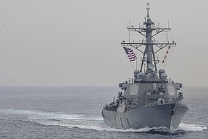 7 U.S. Sailors Missing After Navy Destroyer's Collision With Merchant Vessel