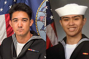 State Capitol Flags At Half-Staff For San Diego Sailors Killed In USS Fitzger...