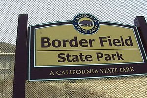 San Diego Officials Issue Warning Due To Sewage Spill At Border Field State P...