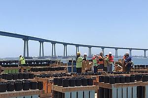 Crews Setting Up For 'Big Bay Boom' Fireworks Show