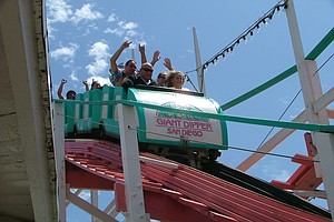 Belmont Park's Giant Dipper Roller Coaster Celebrates 92nd Birthday