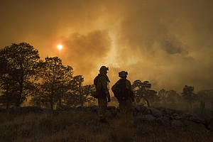 San Diego Firefighters Help Battle State's Largest Wildfire