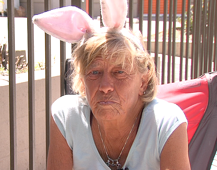 Cheryl Taylor talks about what it's like to live on the streets of San Diego,...