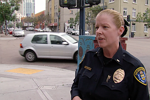 San Diego Police Lt. Carole Beason Talks About Violence Against People Who Ar...
