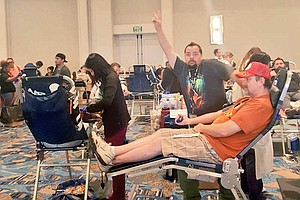 San Diego Blood Bank Gets Record Number Of Donations At Comic-Con
