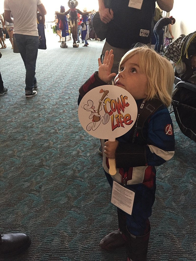 This little boy symbolized what Comic-Con is really all about.