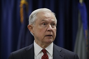 US Attorney General Jeff Sessions Visits San Diego