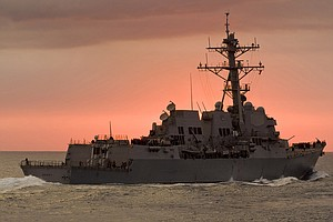 USS Dewey Returns Home After Four Months At Sea