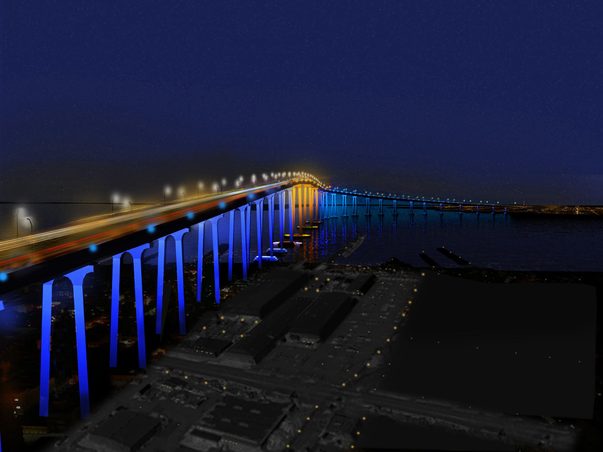 Design To Illuminate Coronado Bridge Gets Port Of San