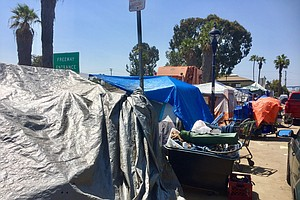 Plan To House San Diego's Homeless In Industrial Tents Ga...