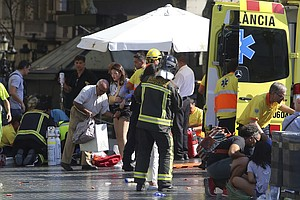 Van plows Into Barcelona Crowd In 'Terror Attack'